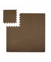 Brown foam play mat