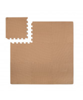 Light brown foam play mat