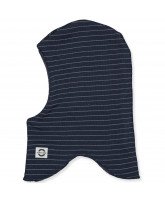 Blue nights wool kids' balaclava - refleks