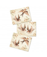 Wall decoration Sparrows