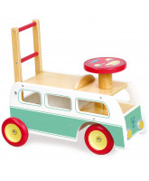 Baby walker - 2 in 1 retro bus
