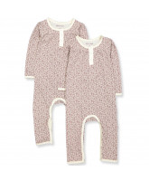 Organic 2 pack Vanda playsuit
