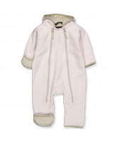 Rose powder fleece suit