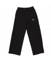 Black unisex pants